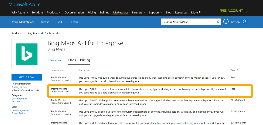 how to use bing search api